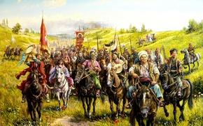 Картинка арт, казаки, Андрей Лях