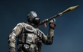 Обои оружие, Battlefield 4, солдат, экипировка, гранатомет