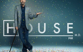 Обои хью лори, сериал, house m.d., Hugh Laurie