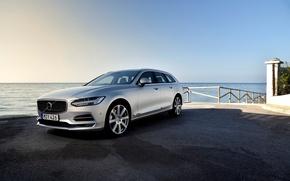 Картинка Volvo, вольво, универсал, V90