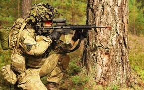 Картинка оружие, солдат, Danish Army