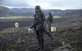 Картинка фон, форма, Rogue One, A Star Wars Story, Death Troopers