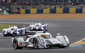 Картинка Audi, Toyota, e-tron, Hybrid, Quattro