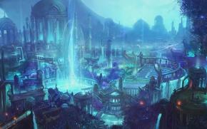 Картинка WoW, World of Warcraft, Legion, Suramar, Сурамар
