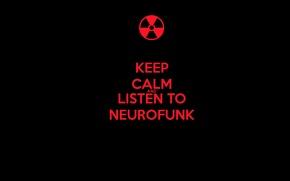 Картинка calm, and, listen, neurofunk, keep
