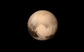 Картинка космос, поверхность, Плутон, карликовая планета