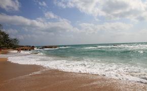 Картинка море, природа, Волны
