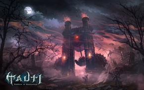 Картинка могилы, цепи, Lineage 2, lineage, линейка, la2, линейдж, Goddess of Destruction, Tauti, маятник