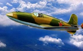 Картинка ракетный самолёт, БИ-1, Березняк — Исаев