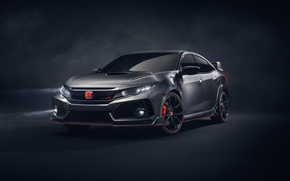 Обои Honda, 2018 Honda Civic Type R, тюнинг, Type-R, Хонда, Сивик, Civic