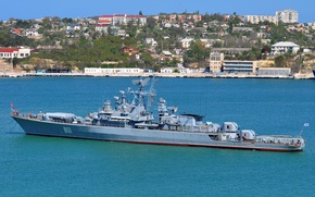 """Картинка корабль, Севастополь, сторожевой, 1135 проект, """"Ладный"""""""
