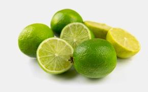 Обои fruit, зеленый, Lime, свежий, фрукт, Fresh, лайм