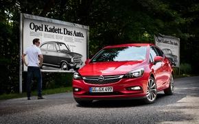 Обои Opel, астра, опель, 2015, Astra K