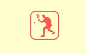 Обои игра, эмблема, Squash