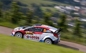 Картинка Ford, Форд, Germany, WRC, Rally, Fiesta, Размытие, Robert Kubica