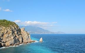 Картинка море, горы, Природа, Крым