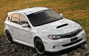 Картинка Subaru, Impreza, WRX, SPT