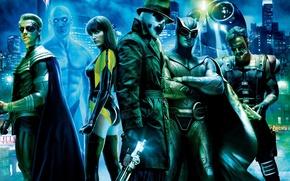 Обои Хранители, Герои, Watchmen
