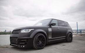 Обои LWB, CLR R, Lumma Design, рендж ровер, 2014, Range Rover, L405