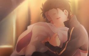 Картинка парень, anime, art, Subaru Natsuki, Re: Zero kara Hajimeru Isekai Seikatsu