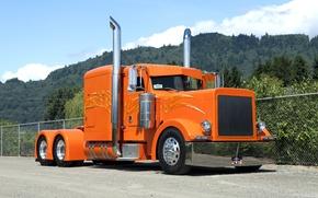 Картинка тюнинг, грузовик, тягач, peterbilt 379