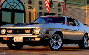 Картинка Mustang, Ford, 1971 Ford Mustang