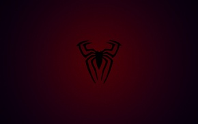 Обои red, marvel, spiderman, awesome, web, spider, blue