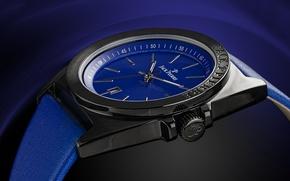 Картинка metal, blue, watch, Jack Pierre
