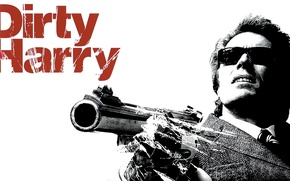 Картинка актер, 1971, боевик, криминал, Клинт Иствуд, Грязный Гарри