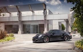 Картинка 997, Porsche, turbo, порше, black