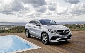Обои W166, 2015, Mercedes-Benz, Coupe, GLE-class