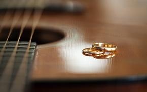 Картинка музыка, гитара, кольца