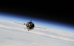 Картинка space, Earth, cosmos, planet, spacecraft, Soyuz, Planet Earth