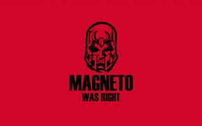 Обои red, black, magneto