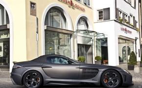 Картинка черный, тюнинг, SLR, Mercedes, black, мерседес, tuning, FAB Design