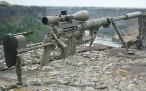 Картинка оружие, снайперская винтовка, Intervention M200, крупнокалиберная