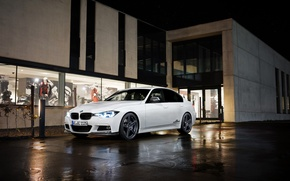 Картинка белый, бмв, BMW, седан, F30, AC Schnitzer, 3-Series