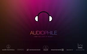 Обои brands, audiophile, music