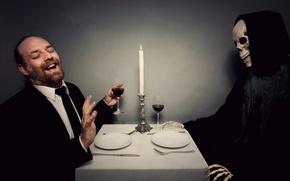 Обои человек, смерть, ситуация