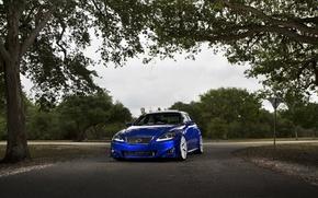 Картинка Lexus, blue, F Sport, IS250