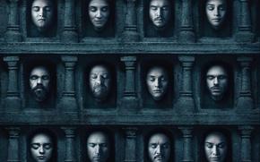 Обои dead, decapitated, season 6, Game of Thrones, heads