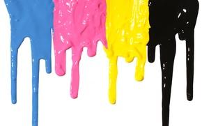 Картинка краска, colors, подтеки, paint, dripping, acrylic