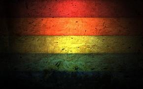 Обои цвета, Стена, трещины