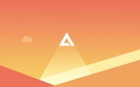 Картинка Logo, Wallpaper, Morning, AIMP, Minimalism, Artem Izmaylov Media Player, Alpha