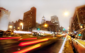 Обои ночь, нью-йорк, night, new york, usa, nyc, East Village, 3rd Avenue