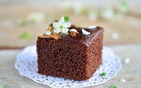 Картинка шоколад, пирожное, десерт