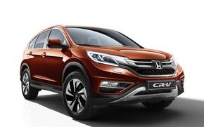 Картинка Honda, хонда, 2015, CR-V, CIS-spec, црв