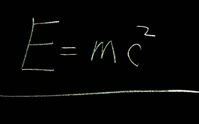 Картинка Энергия, физика, Эйнштейн, E=mc^2, теория относительности, Масса