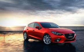 Картинка красный, Mazda, хэтчбек, RED, skyactiv