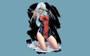 Обои Marvel, Comics, Spider-Man, Black Cat, Felicia Hardy